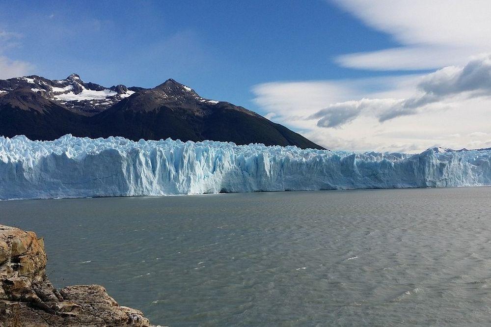 Bosbranden en gletsjers