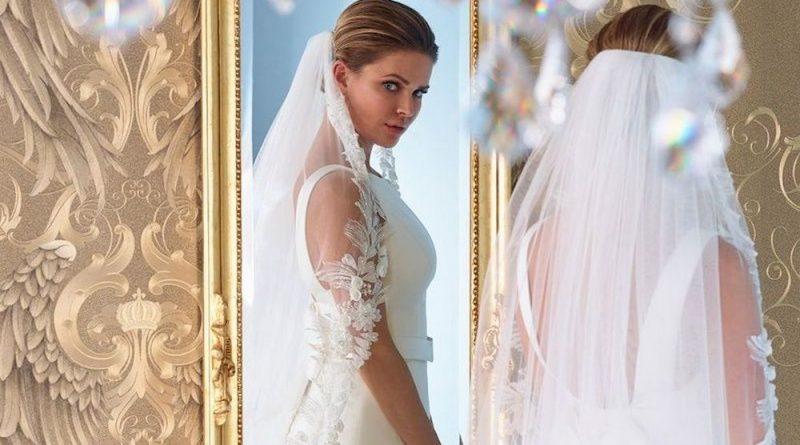 Een mooie bruid van top tot teen